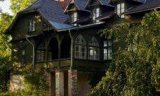 ФОТО. Зеленый дом в Цесвайне: одна из самых красивых деревянных построек в Латвии ждет гостей
