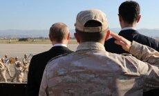Krievija plāno paplašināt savas militārās bāzes Sīrijā