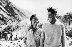 Reti arhīva kadri: Kā pirmie cilvēki uzkāpa Everestā
