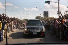 "Cadillac one aka ""Зверь"", или На чем ездит президент США Барак Обама"