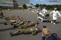 """Больница """"Гайльэзерс"""" впервые приняла участие в совместных с армией США учениях"""