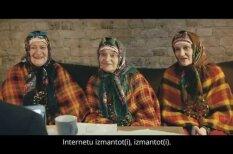 """ВИДЕО. Местные """"бурановские бабушки"""" продвигают е-услуги на Latvija.lv"""