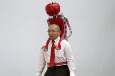 Apķērīgs japānis izgatavo tomātu robotu - palīgu maratonistiem