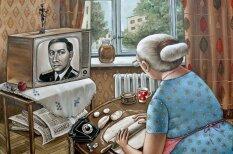 Путешествие во времени: картинки, показывающие быт советских людей 30 лет назад