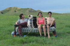 Вокруг США за 90 дней: три друга, две собаки и один диван