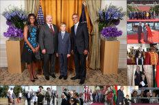 Десять мировых лидеров, которым повезло постоять рядом с Колей Лукашенко