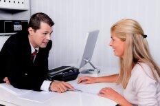 Desmit dīvaini padomi, kā uzvesties darba intervijā
