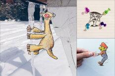 17-летний художник пририсовывает смешные объекты к фото обычных вещей