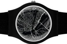 Kanādas latviete radījusi hipsteru pulksteni ar Rīgas karti