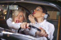 Sieviete pie stūres – apdraudējums pašai sev un visiem citiem