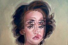 Sieviešu portreti, uz kuriem fiziski grūti skatīties