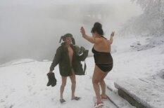 Рижане, учитесь: как русские переживают тридцатиградусный мороз в Красноярске