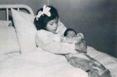 Kā piecus gadus vecai meitenei no Peru piedzima bērns