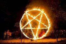 Unikāli kadri: fotogrāfs iemūžina īstu Sātana pielūgšanas rituālu