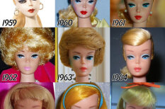 Гламур, еще гламур! 56 лет эволюции кукол Барби