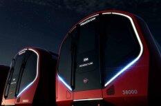 Новые вагоны лондонской подземки похожи на космические корабли (видео)