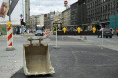 ФОТО ДНЯ: Что в Риге положили на ремонт на улице Бривибас