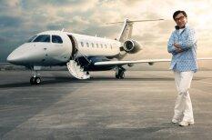 Новая игрушка Джеки Чана — личный самолет за 20 млн. долларов