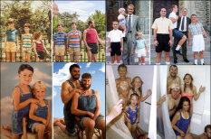 Тогда и сейчас: братья и сестры воссоздали семейные фото из детства