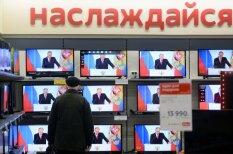 Приказано — зомбировать: 18 отличных фото телевизоров с Путиным внутри