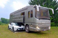 ФОТО, ВИДЕО. Дом-гараж на колесах за €1,4 млн. — скромен снаружи, роскошен внутри