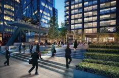 Новый лондонский офис Amazon.com - с кортом, бассейном и садом на крыше