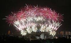 Foto: Ar grandiozu uguņošanu 2014. gadu sagaida Sidnejā
