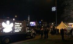 Reportāža: Jaunā gada sagaidīšana Rīgā