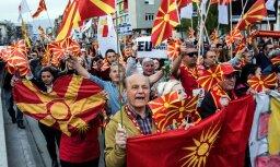 В Македонии затяжной политический кризис грозит межэтническим конфликтом