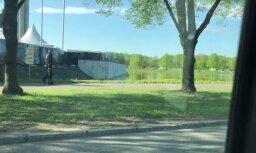 Video: Uzvaras parks gatavojas 9. maija dzīrošanai