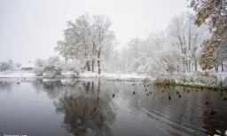 Latvija tinas sniega segā: lasītāji iemūžina skaistos skatus
