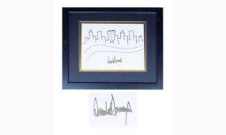 Рисунок Дональда Трампа ушел с молотка за 29 тысяч долларов