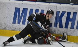 'Rīgas' hokejisti MHL mačā piedzīvo sagrāvi pret 'Ruskije Vitjazi' komandu