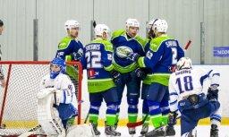 'Mogo' un 'Kurbads' hokejisti izcīna ļoti graujošas uzvaras Latvijas čempionāta spēlēs