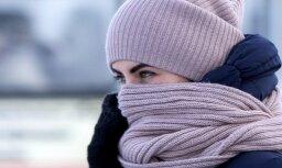 В декабре в Латвии не ожидается сильных морозов