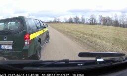 Video: Robežsargi bez ceremonijām aptur auto Bērzpilī