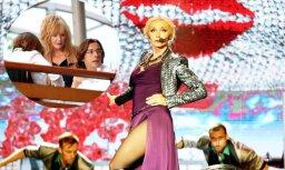 Foto: Pugačova Dzintaros bauda savas meitas koncertu