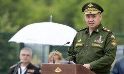 Šoigu: kopš Krievijas operācijas sākuma Sīrijā likvidēti teju 88 000 nemiernieku