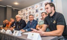 Latvijas regbija čempionāta izšķirošos mačus komandas sagaida kaujinieciskā noskaņojumā
