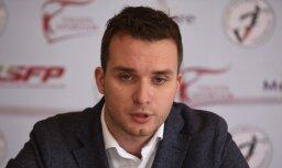 Latvijas Volejbola federāciju pamet ģenerālsekretārs Dakša