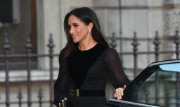 Briti jūk prātā – hercogiene Megana pati aizver auto durvis