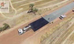Video: Pasauli sajūsmina ceļa seguma ieklāšanas veids Austrālijā