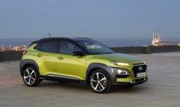 'Hyundai' prezentējis savu mazāko apvidus auto 'Kona'