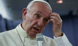 Pāvests Francisks salīdzina abortus ar nacistu eigēnikas programmu
