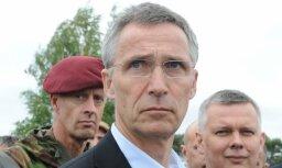 Cтолтенберг объявил в Латвии о завершении переброски войск НАТО на восток