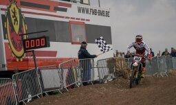 Latvijas komanda Eiropas junioru nāciju motokrosā izcīna septīto vietu