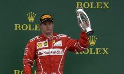 'Ferrari' pagarina līgumu ar Raikonenu