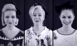 Latviešu aktrises ieraksta savdabīgu atzīšanos grupai 'Līvi'