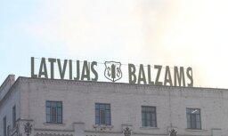 Pērn pārtikas un dzērienu nozares uzņēmumu topa līderis - 'Latvijas balzams'
