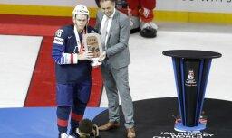 Самым ценным игроком чемпионата мира признан капитан сборной США Патрик Кейн